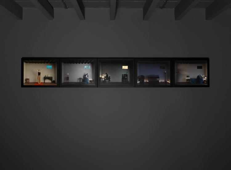 Bill Viola Catherine's Room, 2001 ARTIST ROOMS Tate and National Galleries of Scotland. Acquired jointly through The d'Offay Donation with assistance from the National Heritage Memorial Fund and the Art Fund 2008 © Bill Viola